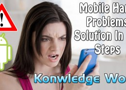 how to solve mobile hang problem